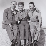 publicity with Charles Coburn and Alexander Knox