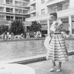 1954 - at the Copacabana Palace in Rio di Janeiro