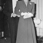 1939 - with Frank at the Los Angeles opera opening night