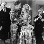with Edward Torrence, Adolphe Menjou and Baclanova