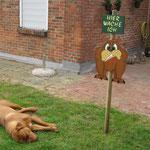 Schnaaarch .... - toller Wachhund *g* ! Yuma
