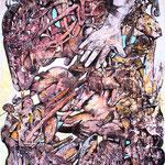 Deep Rooted 2 - Acryl auf Lw - 60 x 40cm