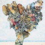 Balance - Acryl auf Lw - 60 x 60 cm