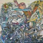 Troll - Acryl auf Lw - 60 x 60 cm