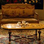 die Möbel stammten meist aus Frankreich