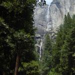 die Wasserfälle haben zZ. nicht sehr viel Wasser