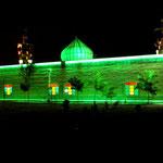 Moschee in der Parkanlage