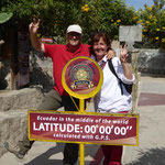 auf der Äquatorlinie