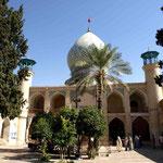 von aussen ist dieser Moschee noch nicht anzusehen,