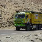 Begleitfarzeug der Dakar Rally