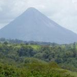 der Vulkan Arenal