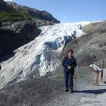 zu Fuss erreichen wir die Gletscherzunge