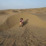 und dann die Sandduenen