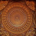 das Innere einer Kuppel