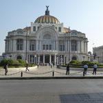 Palast der schönen Künste in Mexico City