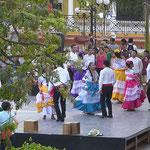in Campeche wird getanzt