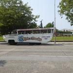 Amphybienfahrzeug für die Stadtrundfahrt - wir machens zu Fuss