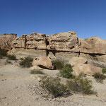 200 Millionen Jahre und mehr sind diese Gesteinsschichten alt