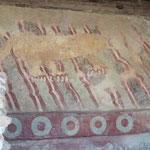 Wandmalerei - ein Jaguar