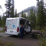 Campground im NP