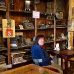 Im typisch ushuanischen Teehaus