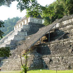 die Ruinen von Palenque