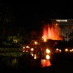 Vulkanausbruch im Mirage