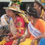Carneval in Arica - die Schönheiten warten auf den Fotoermin