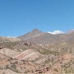 farbige Berge