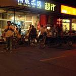 in bester Gesellschaft von Chinesen