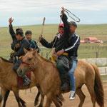 die Jugend, auf dem Pferd statt dem Mofa