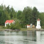 Haus mit Leuchtturm