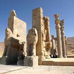 der Eingang zu Persepolis