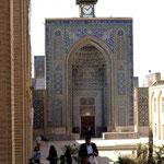 Eingang zur Freitagsmoschee von Kerman