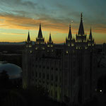 märchenhaft - der Tempel bei Sonnenuntergang