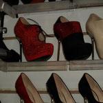 Schuhmarkt - hier speziell High-Heels