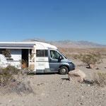 unser Campingplatz im Death Valley