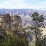 und Sonne im Grand Canyon
