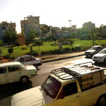 Teheran Süd ist eher flach – hier wohnen die ärmeren Teheraner