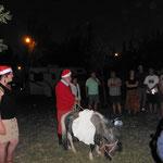 Weihnachtsmann Hans bringt die Wichtelgeschenke