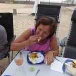 und dann von Hand gegessen  -  Fingerfood ???? -  schmatz......
