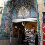 nein keine weitere Moschee – nur der Eingang einer Lagerhalle