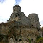 das Kloster Tatev von unten
