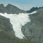 in Alaska kommt man einfach nicht um die Gletscher herum - einer scöner als der andere