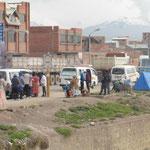 El Alto - Vorstadt von La Paz auf 4100 MüM