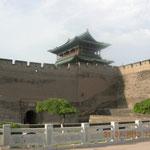 Stadtmauer und Eingangstor von Pingyao