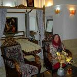 Königszimmer in einem Hotel in der Altstadt