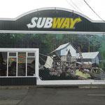 """Sogar das """"Subway"""" Gebäude muss hinhalten"""