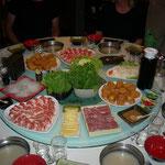 Der chinesische Feuertopf – ähnlich unserem Fondue Chinoise