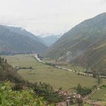 das heilige Tal der Inkas - ausserordentlich fruchtbar
